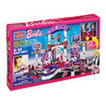 Mega Bloks Barbie Build N Style Super Star Stage Playset