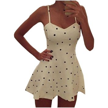 Partiss Women's Dot Slip Dress