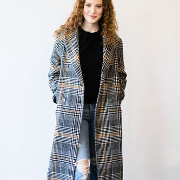 Sorba Plaid Coat