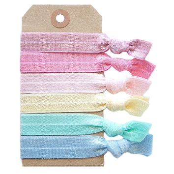 Macaroon Hair Tie Set