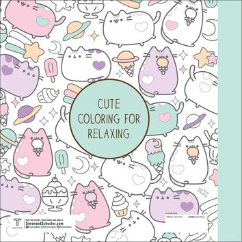 Pusheen Coloring Book Paperback – October 25, 2016