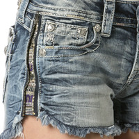 Miss Me Crystal Night Shorts