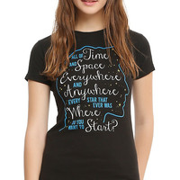 Doctor Who Time And Space Girls T-Shirt