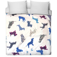 Dog Printed Bed Sheet