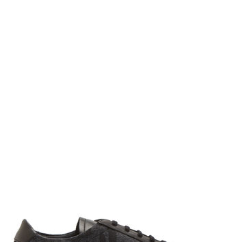 Common Projects Black And Grey Camo Achilles Sneakers