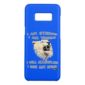 Spunk Quote by Kat Worth Case-Mate Samsung Galaxy S8 Case