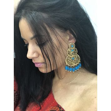 Antique Gold Earring