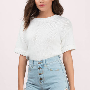 Moon River Sheena High Waisted Shorts