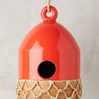 Ceramic Buoy Birdhouse by Anthropologie