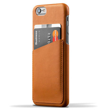 Leather Wallet + iPhone 6 Case