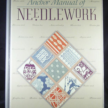The Anchor Manual of Needlework Traditional by 7thStash on Etsy