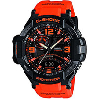 G-Shock Aviator Multifunction Watch - Black/Orange
