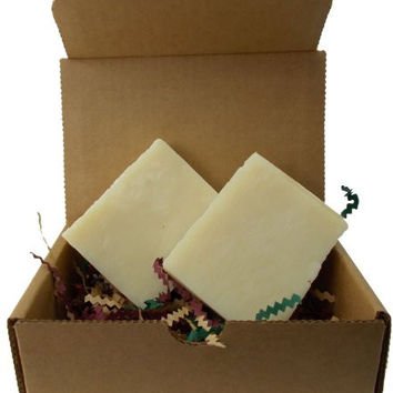Yankee Traders, Leather Jacket, Goats Milk Soap - All Natural, Handmade Soaps for Men / 2 Bars