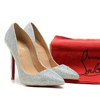 CL Christian Louboutin Fashion Heels Shoes-137