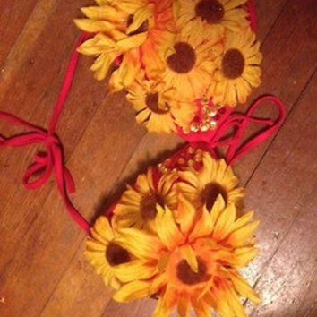 Sunflower Bra