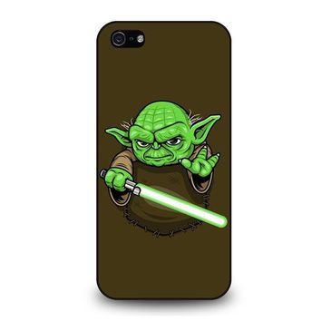 MASTER YODA STAR WARS POCKET iPhone 5 / 5S / SE Case Cover