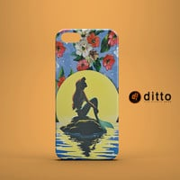 ARIEL MERMAID Design Custom Case by ditto! for iPhone 6 6 Plus iPhone 5 5s 5c iPhone 4 4s Samsung Galaxy s3 s4 & s5 and Note 2 3 4