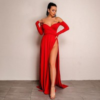 Luciana Dress - Red