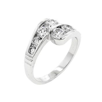 Curve Ring (size: 10) (pack of 1 ea)
