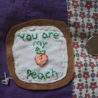 FREE SHIPPING Peach Patch (The Front Bottoms)