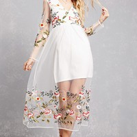 RD & Koko Embroidered Dress