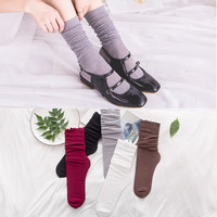 Korean Simple Design Lace Hollow Out Permeable Socks [8189234950]