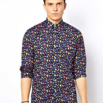 Polo Ralph Lauren Floral Print Shirt in Custom Fit