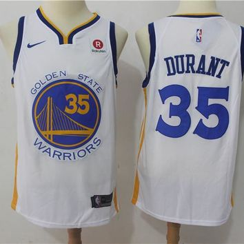Golden State Warriors 35 Kevin Durant Swingman Jersey
