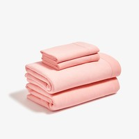 Jersey Blush Sheet Set