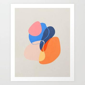 Modern minimal forms 38 Art Print by naturalcolors