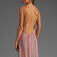 FLYNN SKYE Scoop Back Maxi Dress in Coral Gypsy from REVOLVEclothing.com