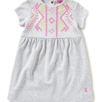Joules Baby/Little Girls 12 Months-3T Lara Embroidered Dress | Dillards