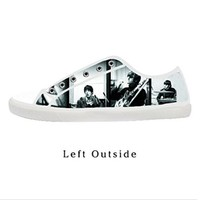 Custom The Beatles Band Women's Canvas Shoes Fashion Shoes for Women
