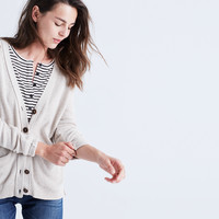Seedstitch Cardigan Sweater