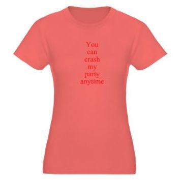 You can crash my party anytime T-Shirt> You can crash my party anytime> Twisted Twang