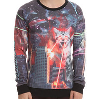 Catzilla Sweatshirt | Hot Topic