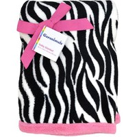 Garanimals Sunny Safari Zebra Fluffy Fleece Blanket - Walmart.com