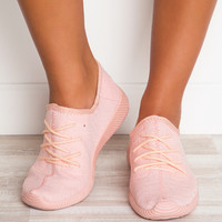 Fast Track Sneakers - Blush