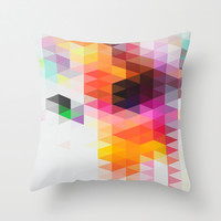 Rainfall 01 Throw Pillow by Three Of The Possessed