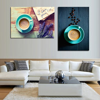 Modern paintings wall pictures for living room coffee canvas wall art picture canvas paintings oil poster vintage home decor art