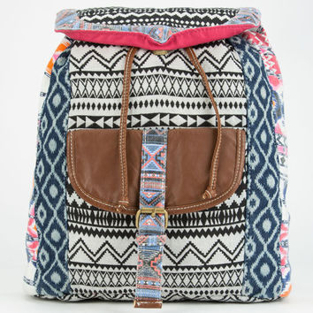 Mixed Media Backpack Multi One Size For Women 25184795701
