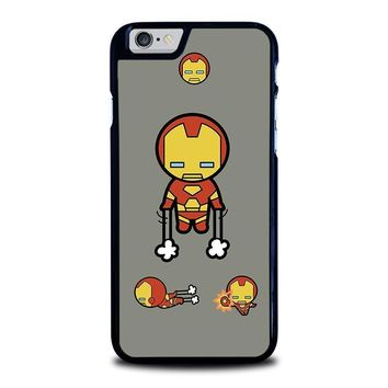 iron man kawaii marvel avengers iphone 6 6s case cover  number 1
