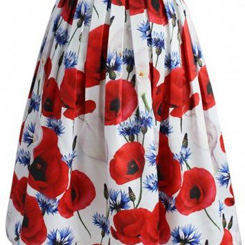 Calla Lovely Midi Skirt
