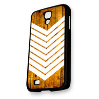 Arrow Teal Wood White Samsung Galaxy S4