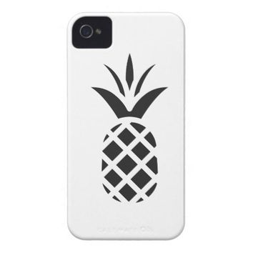 Black Pine Apple Case-Mate iPhone 4 Case
