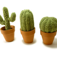 Cacti Cactus Fake Plant - Set of Three