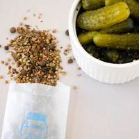 Organic pickling spices - DIY dill pickles - Pickling Spice Seasoning Packet for home canning