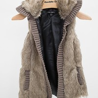 Ashley Faux Fur Vest