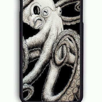 iPhone 6S Case - Hard (PC) Cover with Octopus Kraken  Plastic Case Design