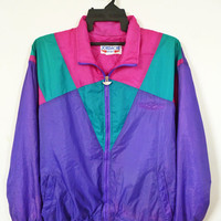 JORDACHE USA Sports trainer windbreaker Silk Bomber Jacket